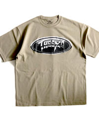 【CHRM】9.1oz Tシャツ/アシッドカーキ #EXC-TS24