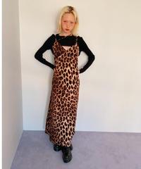 long cami dress LEOPARD