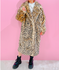 LEOPAPD fur coat