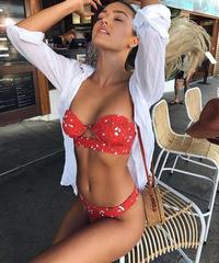 【即納】TB-041 Lady Rose Bustier Bikini