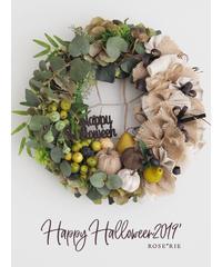 Happy Helloween2019 'Wreath【レッスンキット】★☆☆
