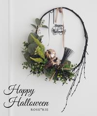 Happy Helloween2018 'Wreath【レッスンキット】★☆☆