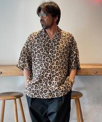 ChahChah Heart leopard chill shirt