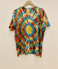 The Elder Statesman BULLSEYE RING COTTON CASH TEE S/S