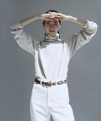 JUN MIKAMI role neck sweatshirt
