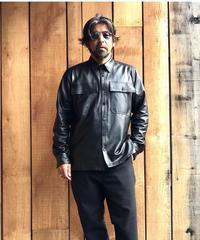 jonnlynx men's saudi arabia leather shirts