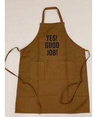 DRESSSEN USE W POCKET APRON (BROWN)