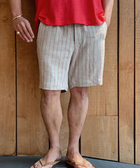 jonnlynx men's red stripe short pants