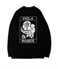 VIOLA&ROSES  CLASSIC No,002 BW L/S TEE