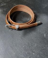 OUR LEGACY 2cm Belt  hair on hide