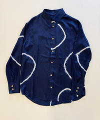 The Elder Statesman BETONY BUTTON-UP SHIRT L/S