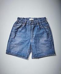 Trompe L'oeil Printed Shorts (1960s Denim Shorts)