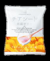 チアシード蒟蒻ゼリー アルフォンソマンゴー味 (1袋)