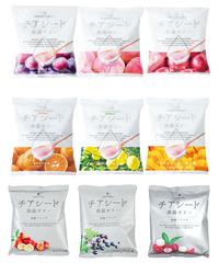 【期間限定1袋おまけキャンペーン】チアシード蒟蒻ゼリー全部入り (各1袋、合計9袋) 【送料無料】