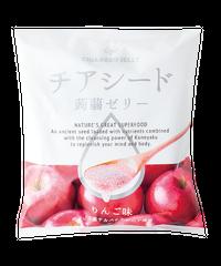 【ケース販売】チアシード蒟蒻ゼリー りんご味 (12袋入り)