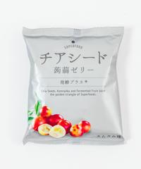 【ケース販売】チアシード蒟蒻ゼリー発酵プラス カムカム味(12袋入)