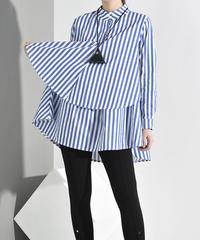 ローレライスタンドカラーシャツ(S-086)