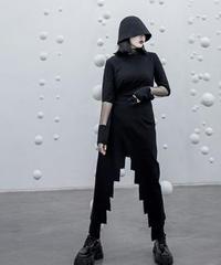 ルーズカットジャゲットスカート(X-566)