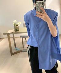 ロングスリーブボタンダウンブルーベントシャツ(X-623)