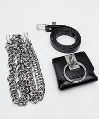 メタルチェーンサークルベルトバッグ(OA-001)