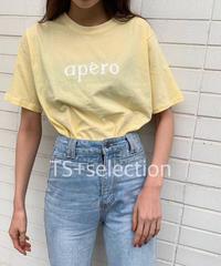 apero  ロゴTシャツ