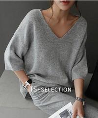 V necked knit