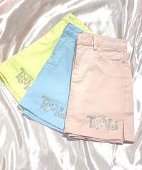 TSUKIロゴパンツ付きタイトスカート