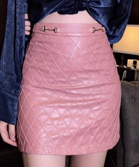 3Dマトラッセタイトスカート