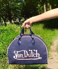 VINTAGE VonDutch ボストンバッグ