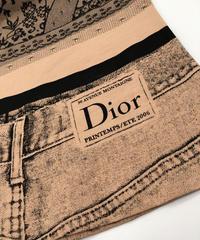 VINTAGE  Dior  ランジェリープリントカットソー