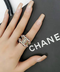 VINTAGE  CHANEL  リング