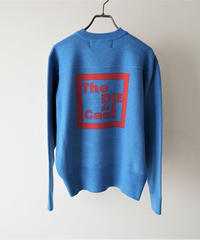 jacquard logo knit The DIE 【2203704】