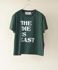20AW Short T-shirt  THE DIE IS CAST【2203852】