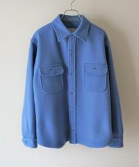 pocket wool shirt【2203201】