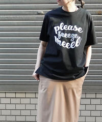 please freeze me BIG T-shirt【2211857】