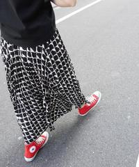 block pleats skirt【2211608】