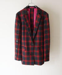 check tailored jacket【2204211】