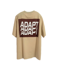 BIG logo T-shirt   ADAPT【2202867】