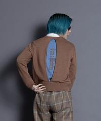 back tuck logo knit【2213702】