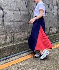 side  pleats  skirt【2202612】
