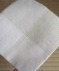 紬織小袱紗 – 「桑畑」
