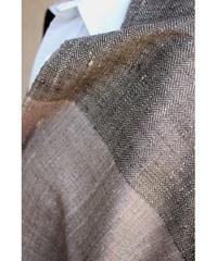 ブラック綾織 × 焦茶 × グレー  (品番1902-06)