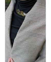 桜染グレー斜子織 (品番:1511-04)