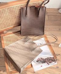 Croco Square Bag 3-B687
