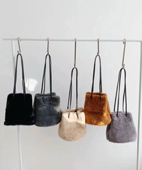 【order】Fur bag 3-B126