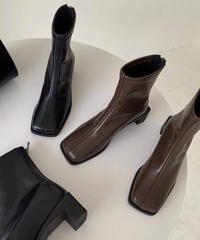 【order】Square Heel Boots 1-S01-1A