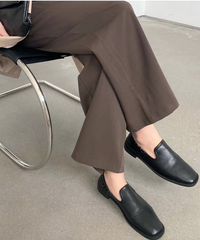 \入荷/Cut Flat Loafer【1-8805-9】