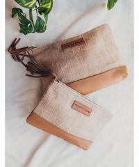 Linen Travel Pouch