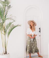 Mandala  Maxi Skirt