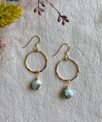 Kalusaito Earrings / blue